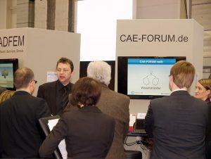 CAE-Austausch auf der Nortec
