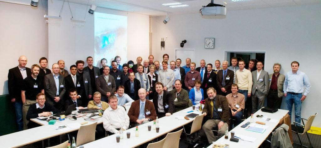 Teilnehmer des 1. NSF
