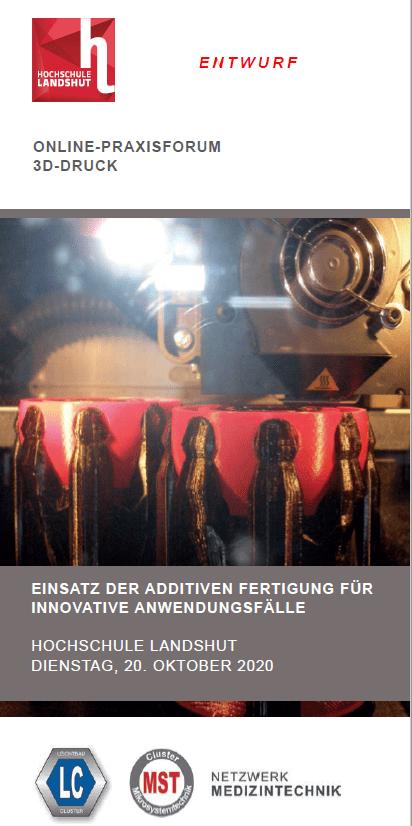 Praxisforum 3D Druck Landshut